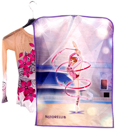 Gimnastikos kostiumų dėklas Pastorelli - paint leotard holder