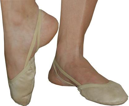 Gimnastikos pėdutės Pastorelli - Classic Microtech