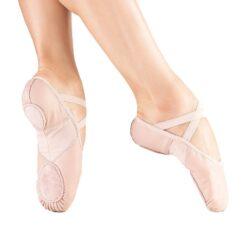 Odiniai baleto bateliai SoDanca - BAE11