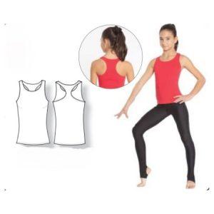 Gimnastikos Marškinėliai Unisex Intermezzo – 6368