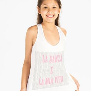Mergaičių Sokiu Marškinėliai SoDanca – 11029