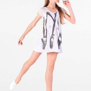 Mergaičių šokių  Marškinėliai SoDanca – 11072