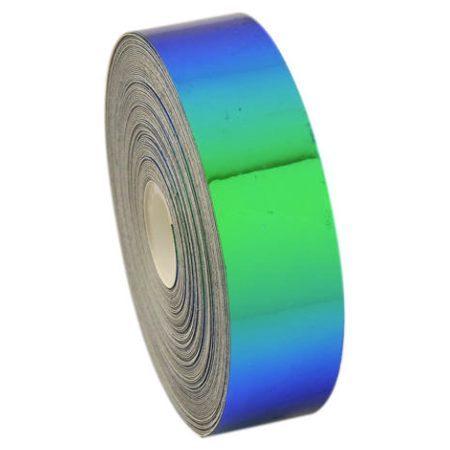 Lipni juostelė gimnastikos įrankiams Pastorelli - Laser 02476 blue-green