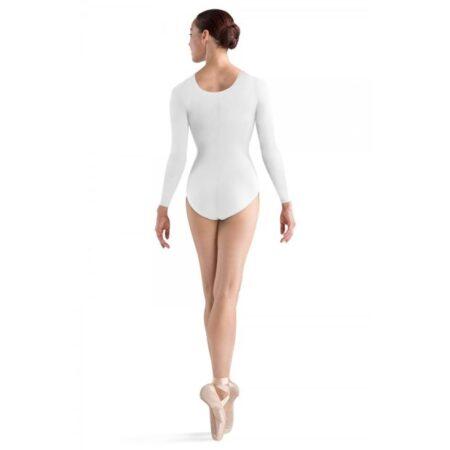 Baleto triko ilgomis rankovėmis - Bloch - L5609 white 1
